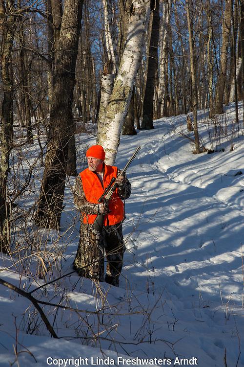 Late season Wisconsin hunter