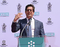 Roman Coppola @ Francis Ford Coppola Hand & Foot Print ceremony held @the TCL Chinese theatre.<br /> April 29, 2016