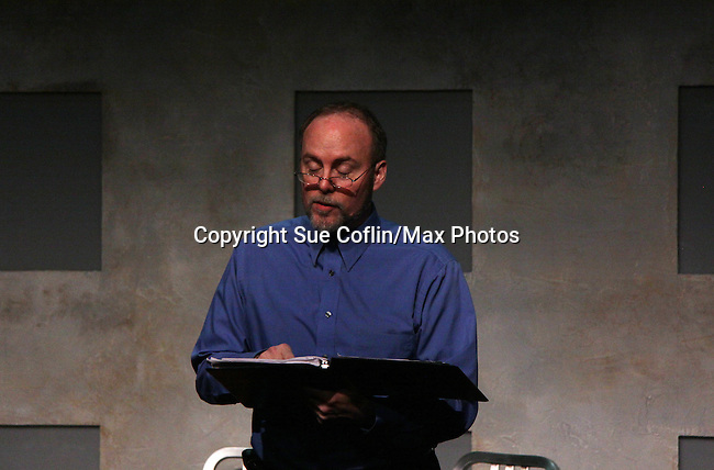 """Richard Kent Green  in """"Verbatim Verboten - NYC"""" on October 18, 2010 at the WorkShop Theater, NYC. (Photo by Sue Coflin/Max Photos)"""