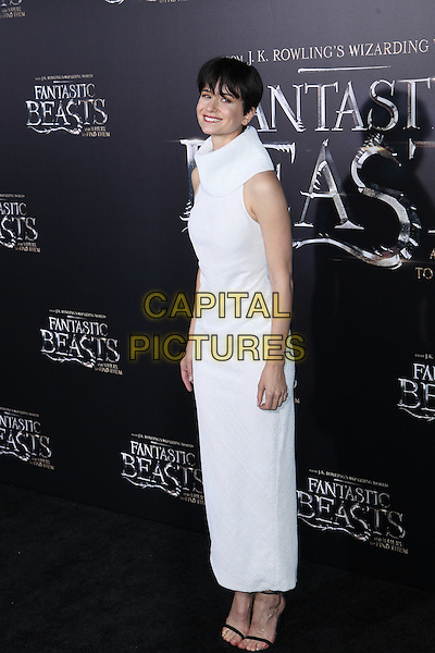 NEW YORK, NY - NOVEMBER 10: Katherine Waterson at the World Premiere of Fantastic Beasts and Where to Find Them at Alice Tully Hall on November 10, 2016 in New York City.   <br /> CAP/MPI/DIE<br /> &copy;DIE/MPI/Capital Pictures