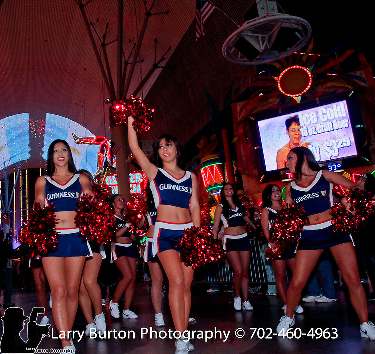 Parade of Nations at Fremont Street Experience. Players from all 16 teams representing their respective country.