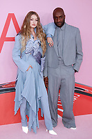 NEW YORK, NY - JUNE 3:  Gigi Hadid and Virgil Abloh at the 2019 CFDA Fashion Awards at the Brooklyn Museum of Art on June 3, 2019 in New York City. <br /> CAP/MPI/DC<br /> ©DC/MPI/Capital Pictures
