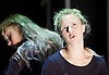 Burning Doors<br /> Belarus Free Theatre at The Soho Theatre, London, Great Britain <br /> press photocall <br /> 1st September 2016 <br /> <br /> Maryia Sazonava<br /> Maria Alyokhina<br /> <br /> Photograph by Elliott Franks <br /> Image licensed to Elliott Franks Photography Services