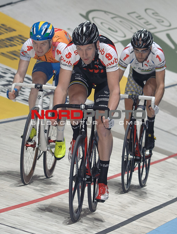 11.01.2014, &Ouml;VB Arena, Bremen, GER, Sixdays Bremen, im Bild Marcel Kalz (Team swb #9)<br /> <br /> Foto &copy; nordphoto / Frisch