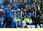 Stuart McCall urges on his troops
