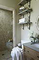 Deerfield stone wall bath