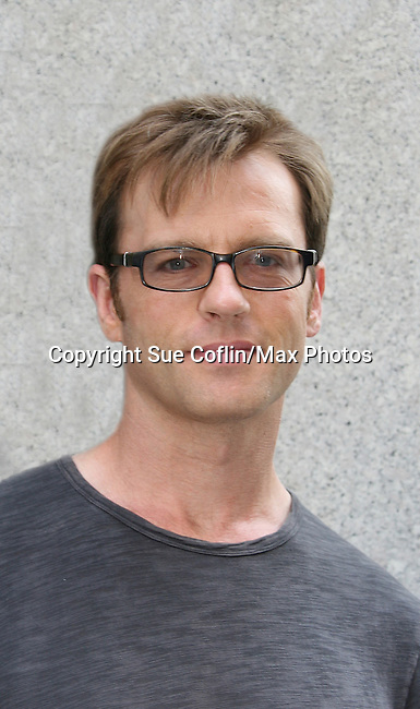 Trevor St. John at the OLTL Studios, New York City, New York. (Photo by Sue Coflin/Max Photos)