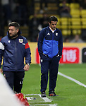 Watford's Marco Silva looks on dejected during the Carabao cup match at Vicarage Road Stadium, Watford. Picture date 22nd August 2017. Picture credit should read: David Klein/Sportimage