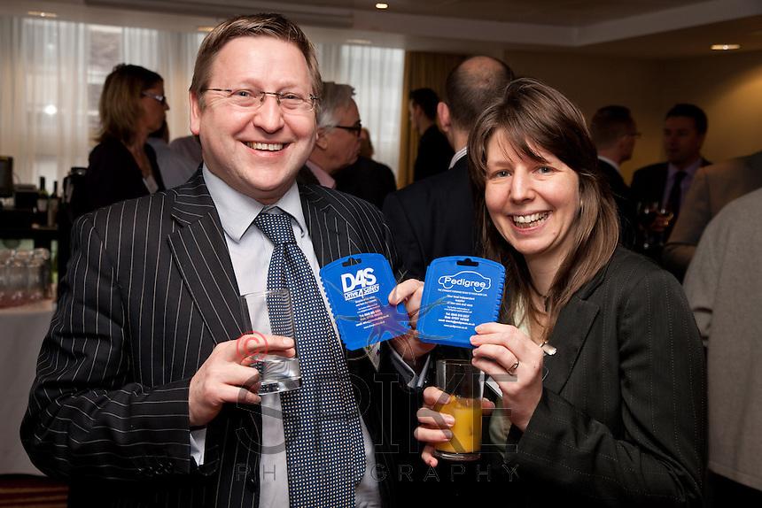Mark Humble of Beechwood Finance and Lyn Watson Belsoft Strategic Accounting