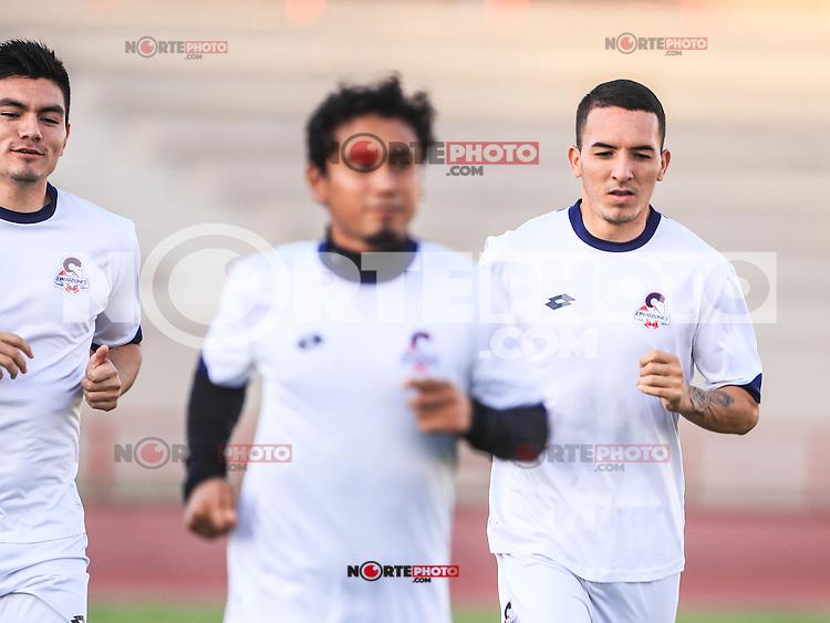Carlos Gastelum, Rai Villa<br /> Entrenamiento de Cimarrones FC. Liga de Ascenso2016<br /> &copy; Foto: LuisGutierrez/NORTEPHOTO.COM