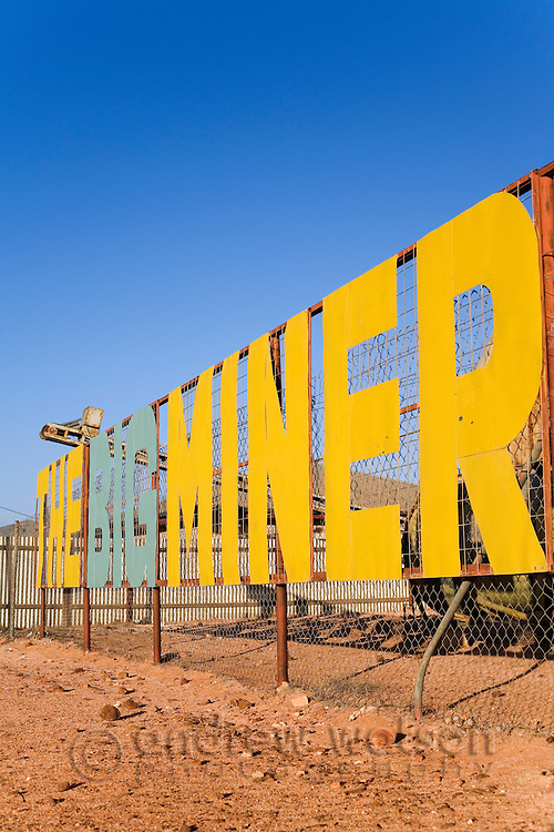 The Big Miner - a business specializing in opals, fossils and jewellery - Coober Pedy, South Australia, AUSTRALIA.