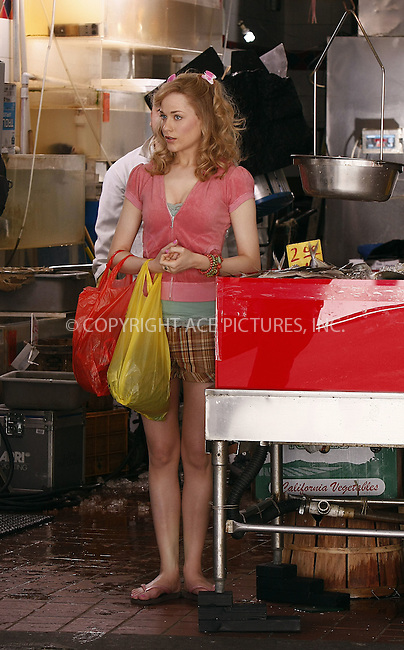 WWW.ACEPIXS.COM ** ** ** ....May 21 2008, New York City....Actress Evan Rachel Wood on the Chinatown set of the untitled Woody Allen Spring Project....Please byline: AJ SOKALNER -- ACEPIXS.COM.. *** ***  ..Ace Pictures, Inc:  ..tel: (646) 769 0430..e-mail: info@acepixs.com..web: http://www.acepixs.com