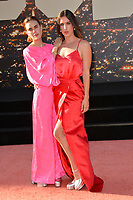 """LOS ANGELES, USA. July 23, 2019: Tallulah Willis & Scout Willis at the premiere of """"Once Upon A Time In Hollywood"""" at the TCL Chinese Theatre.<br /> Picture: Paul Smith/Featureflash"""