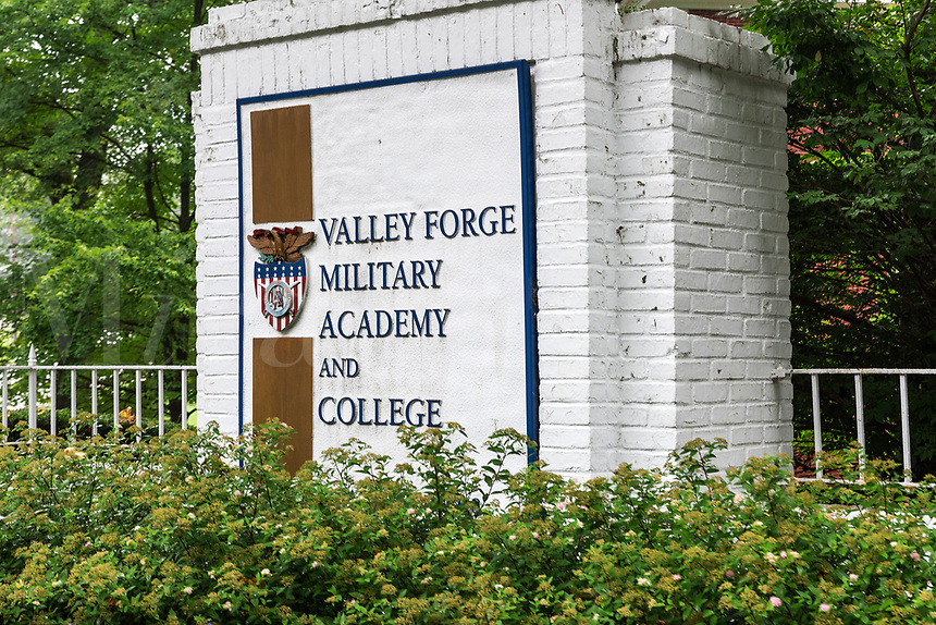 Valley Forge Military Academy and College, Wayne, Pennsylvania, USA.