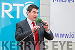 Brendan Griffin at the Kerry General Election Count in Killarney.