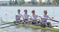 Brandenburg. GERMANY.<br /> 2016 European Rowing Championships at the Regattastrecke Beetzsee<br /> <br /> Friday  06/05/2016<br /> <br /> [Mandatory Credit; Peter SPURRIER/Intersport-images]