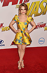 HOLLYWOOD, CA - JUNE 25: Rosanna Pansino arrives at the Premiere Of Disney And Marvel's 'Ant-Man And The Wasp' at the El Capitan Theatre on June 25, 2018 in Hollywood, California.