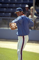 New York Mets Dave Magadan during spring training circa 1990 at Tradition Field in Port St. Lucie, Florida.  (MJA/Four Seam Images)