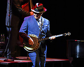 CORAL SPRINGS FL - OCTOBER 19: Scotty Morris of Big Bad Voodoo Daddy performs at Coral Springs Center for the Arts on October 19, 2017 in Coral Springs, Florida. Photo by Larry Marano © 2017