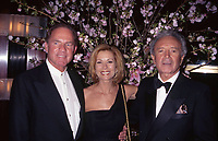 ***Vic Damone Has Passed Away aged 89***<br /> FILE PHOTO: Frank Gifford, Kathie Lee Gifford and Vic Damone attend Rainbow &amp; Stars on 4/18/1996  in New York City. <br /> CAP/MPI/WAL<br /> &copy;WAL/MPI/Capital Pictures