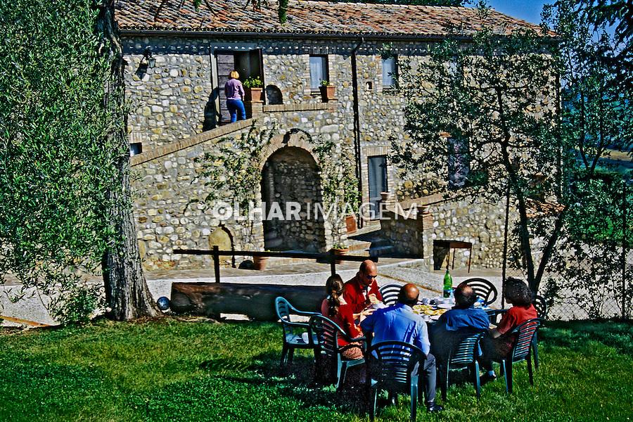 Casa de campo em Orvieto, Umbria. Itália 2002. Foto de Vinicius Romanini.