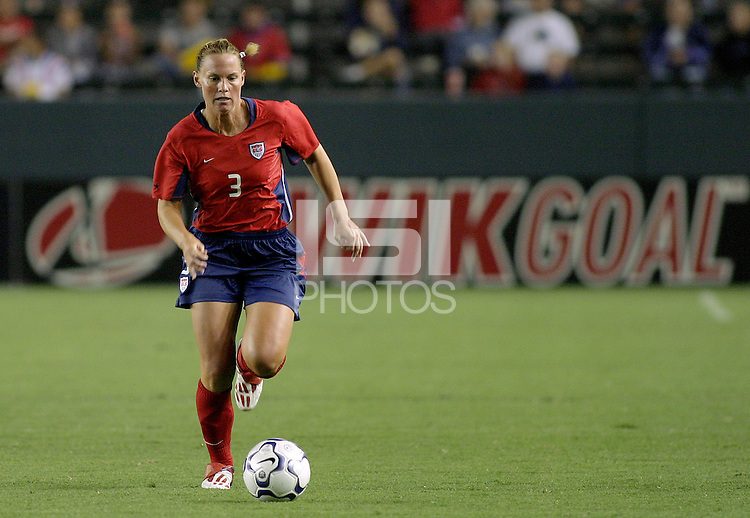 Christie Pearce, USWNT vs. Costa Rica, September 1, 2003.
