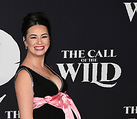 """13 February 2020 - Hollywood, California - Cara Gee. """"The Call of the Wild"""" Twentieth Century Studios World Premiere held at El Capitan Theater. Photo Credit: Dave Safley/AdMedia /MediaPunch"""