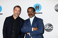 LOS ANGELES - FEB 5:  Bryan Callen, Tim Meadows at the Disney ABC Television Winter Press Tour Photo Call at the Langham Huntington Hotel on February 5, 2019 in Pasadena, CA.<br /> CAP/MPI/DE<br /> ©DE//MPI/Capital Pictures
