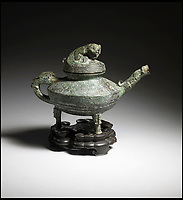 BNPS.co.uk (01202) 558833Pic: CanterburyAuction/BNPS<br /> <br /> Western Zhou water vessel from 1500 BC has sold for &pound;508,400.<br /> <br /> A Chinese relic looted from the Summer Palace by a British army officer 158 years ago has sold for more than half a million pounds after it was found in the attic of an unassuming English house.<br /> <br /> The 3,500 year old sacred Chinese bronze water vessel is one of seven known to exist, with five in museums, but Chinese officials said the stolen antiquity should be returned to China.<br /> <br /> The rare item was taken by Captain Harry Lewis Evans when the British and French arrived at the Emperor's Summer Palace in Peking - now Beijing - during the Second Opium War.<br /> <br /> Capt Evans wrote letters home describing the mystical palace and the looting of its treasures that took place in 1860.<br /> <br /> Along with the rare Tiger Ying, three other Chinese bronzes sold which brought the total to &pound;549,320 including premiums.<br /> <br /> China's State Administration of Cultural Heritage is believed to have said it was looking into the auction and opposed the sale and purchase of illegal cultural relics.