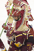 Mike Handza, Matt Stefanishion - The Ferris State Bulldogs defeated the University of Denver Pioneers 3-2 in the Denver Cup consolation game on Saturday, December 31, 2005, at Magness Arena in Denver, Colorado.