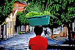 Vendedora de verduras. Bom Jesus da Lapa. Bahia. 2009. Foto de Alberto Viana.