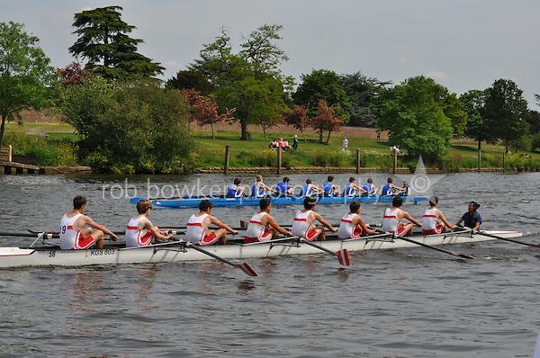 Thames Ditton Regatta.J15 8+ .19. Kingston G Sch (Robson).20. Canford Sch (Catto)