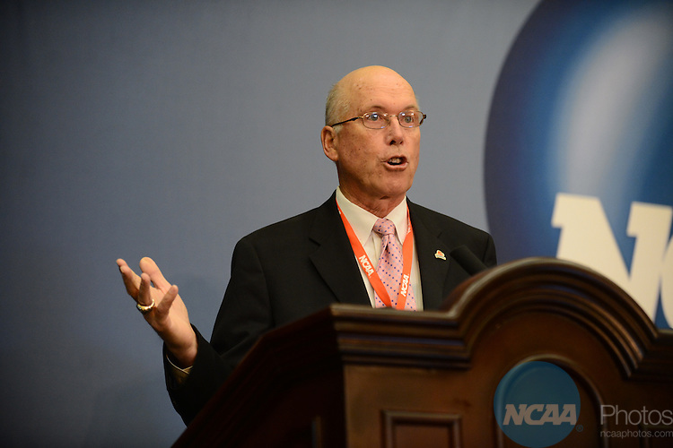 The 2013 NCAA Convention at the the Gaylord Texan Hotel in Grapevine, TX, Thursday, January 17, 2013. (Peter Lockley/NCAA Photos).Pictured: Alan Patterson