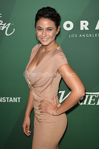 BEVERLY HILLS - OCTOBER 14:  Emmanuelle Chriqui at Variety's Power Of Women Luncheon 2016 at the Beverly Wilshire Four Seasons Hotel on October 14, 2016 in Beverly Hills, California. Credit: mpi991/MediaPunch