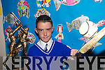 ON THE BALL: David Goulding from Sliabh-a-Mhadra National School in Ballyduff who won the Kerry Primary Schools Hurling Skills Finals in Tralee on Wednesday..