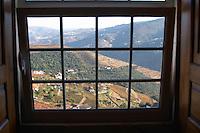 view over the valley quinta do cotto douro portugal