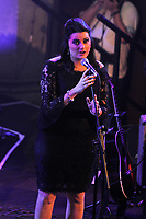 LONDON, ENGLAND - SEPTEMBER 28: Samantha Barks of 'Indoor Garden Party' performing at Union Chapel on September 28, 2017 in London, England.<br /> CAP/MAR<br /> &copy;MAR/Capital Pictures /MediaPunch ***NORTH AND SOUTH AMERICAS ONLY***
