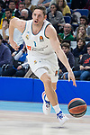 Real Madrid Fabien Causeur during Turkish Airlines Euroleague match between Real Madrid and FC Barcelona Lassa at Wizink Center in Madrid, Spain. December 14, 2017. (ALTERPHOTOS/Borja B.Hojas)