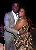 """LOS ANGELES - JULY 08: (L-R) Cast members Damson Idris and Michael Hyatt attend the Red Carpet Event for FX's """"Snowfall"""" Season Three Premiere Screening at USC Bovard Auditorium on July 8, 2019 in Los Angeles, California. (Photo by Frank Micelotta/PictureGroup)"""