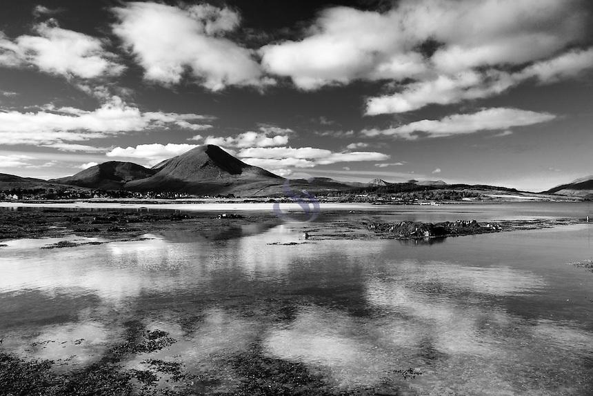 Beinn na Caillich and Broadford Bay from Waterloo, Broadford, Isle of Skye, Skye & Lochalsh, Highland