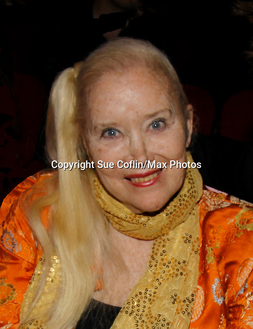 """Sally Kirkland (GH) -stars in The film """"Price for Freedom"""" - worldwide premiere shown on this night  - 10th Anniversary of the Hoboken International Film Festival on May 29, 2015 at the Paramount Theatre, Middletown, NY - runs through June 4. (Photos by Sue Coflin/Max Photos)"""