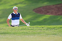 Haotong Li (CHN) on the 15th fairway during the 2nd round of the DP World Tour Championship, Jumeirah Golf Estates, Dubai, United Arab Emirates. 16/11/2018<br /> Picture: Golffile | Fran Caffrey<br /> <br /> <br /> All photo usage must carry mandatory copyright credit (© Golffile | Fran Caffrey)
