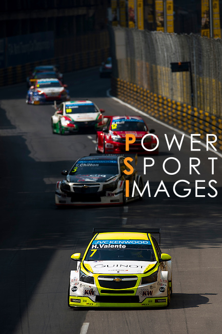 Hugo Valente races the FIA WTCC during the 61st Macau Grand Prix on November 16, 2014 at Macau street circuit in Macau, China. Photo by Aitor Alcalde / Power Sport Images