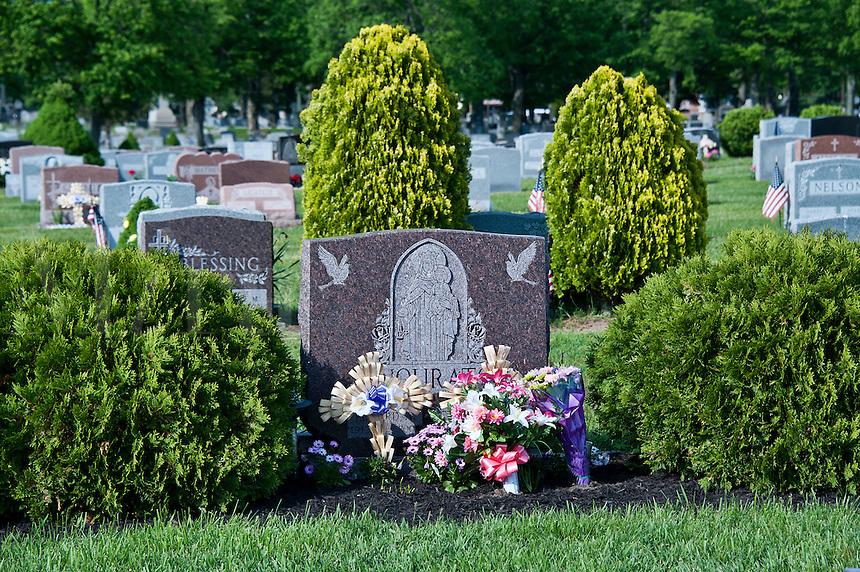 Catholic cemetery, USA