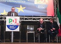 Europee 2019 Zingaretti a Napoli