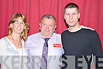 Pictured at the Ladbrokes.com Poker Tournament in the INEC, Killarney on Saturday night were Shella McSweeney, Killarney, Tim O'Sullivan, Killarney and Vytautas Zuirblis, Kenmare.