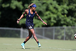 CARY, NC - JULY 20: Jessica McDonald. The North Carolina Courage held a training session on July 20, 2017, at WakeMed Soccer Park Field 3 in Cary, NC.