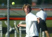 Boys Tennis vs Hamilton Heights 9-9-09
