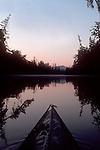 Sea kayak, Chehalis Surge Plain, Chehalis River, Grays Harbor, Washington State, Pacific Northwest, USA