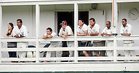 Hornsey players look on during the Middlesex County Cricket League Division Three game between Highgate and Hornsey at Park Road, Crouch End, London on Sat June 5, 2010
